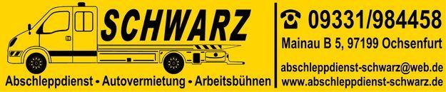 Logo Abschleppdienst Schwarz